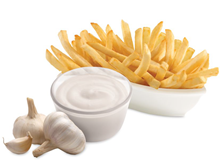 Fries with Garlic Sauce