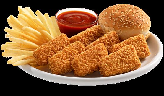 Chicken Fillet Nuggets Meal