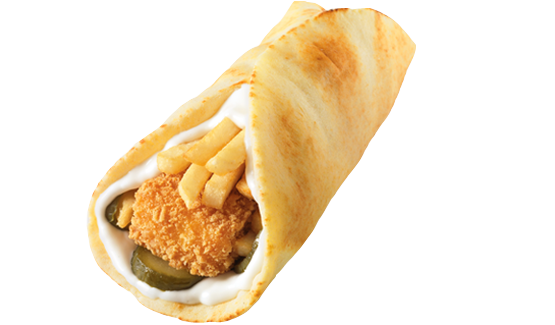ساندوتش دجاج مسحب