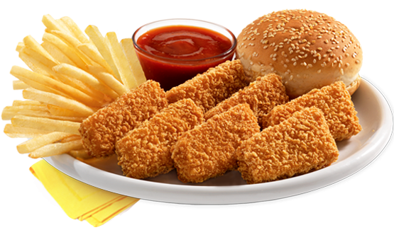 Chicken Fillet Nuggets Meal