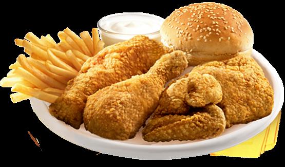 وجبة دجاج البيك